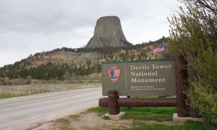 Climbing Devil's Tower for ALS