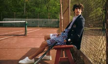 Francisco Henriques Sports Tennis Style for Issue Magazine