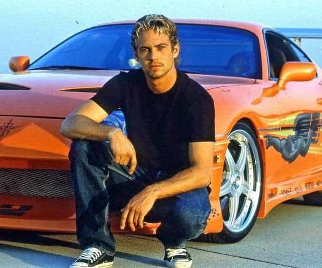 """Paul Walker's """"The Fast & The Furious"""" 1994 Toyota Supra Sold"""