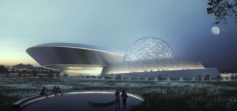 Shanghai is About to Open the World's Largest Astronomy Museum
