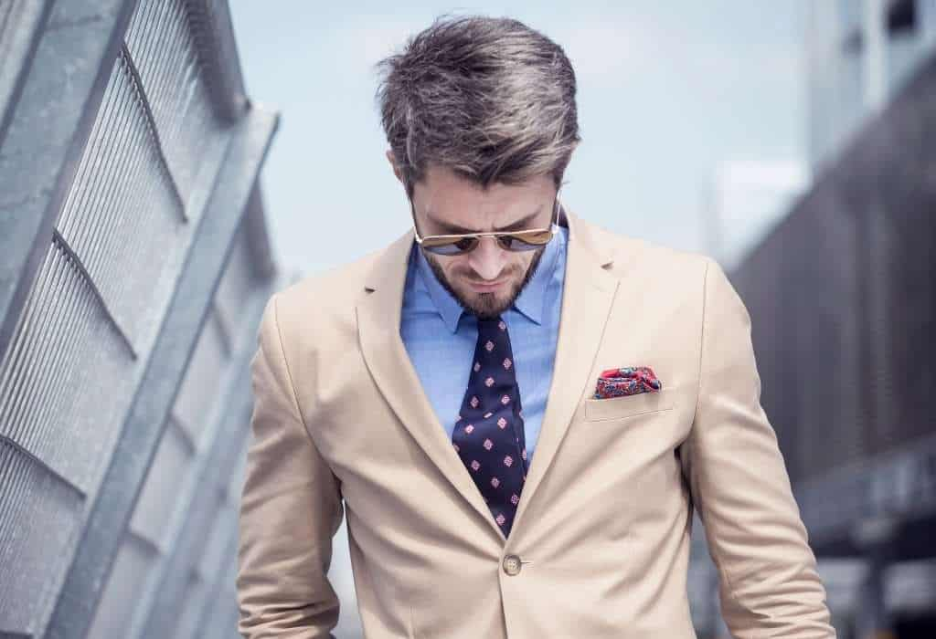 bright colors in mens wardrobe - match colors in men's clothing
