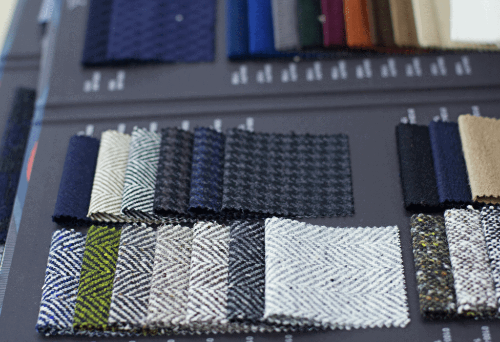mens suit fabrics available in bespoke and made to measure suits