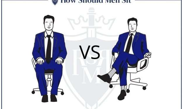 How Men Should Sit (Should Men Sit With Their Knees Open Or Closed?)