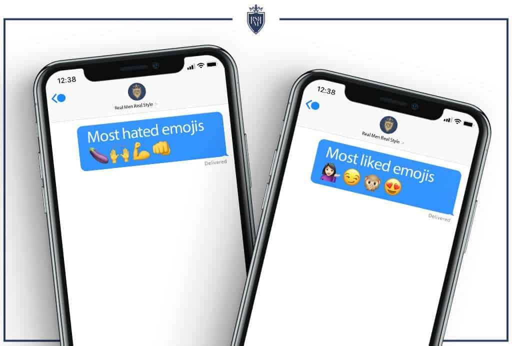 the most hated and liked emojis