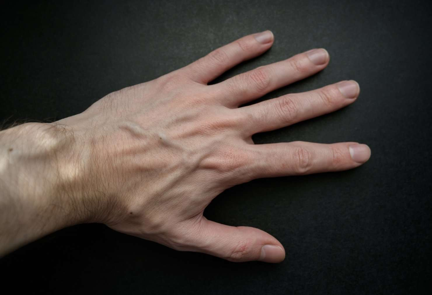 a man's hand which is one of the things women notice first
