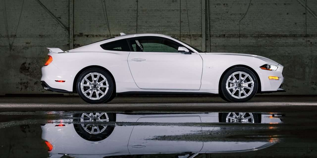 Mustang Introduces Ice White Edition Package For Mach-E and Coupe