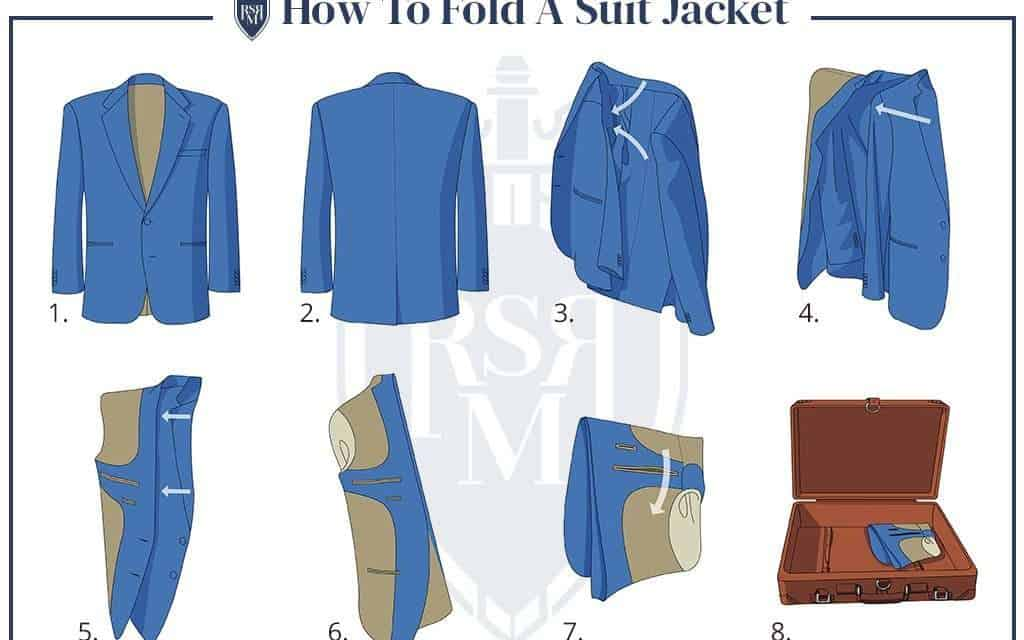 3 Simple Ways To Fold A Suit Jacket