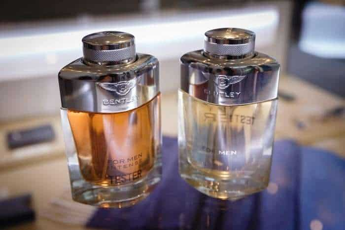 bentley colognes on table most masculine colognes