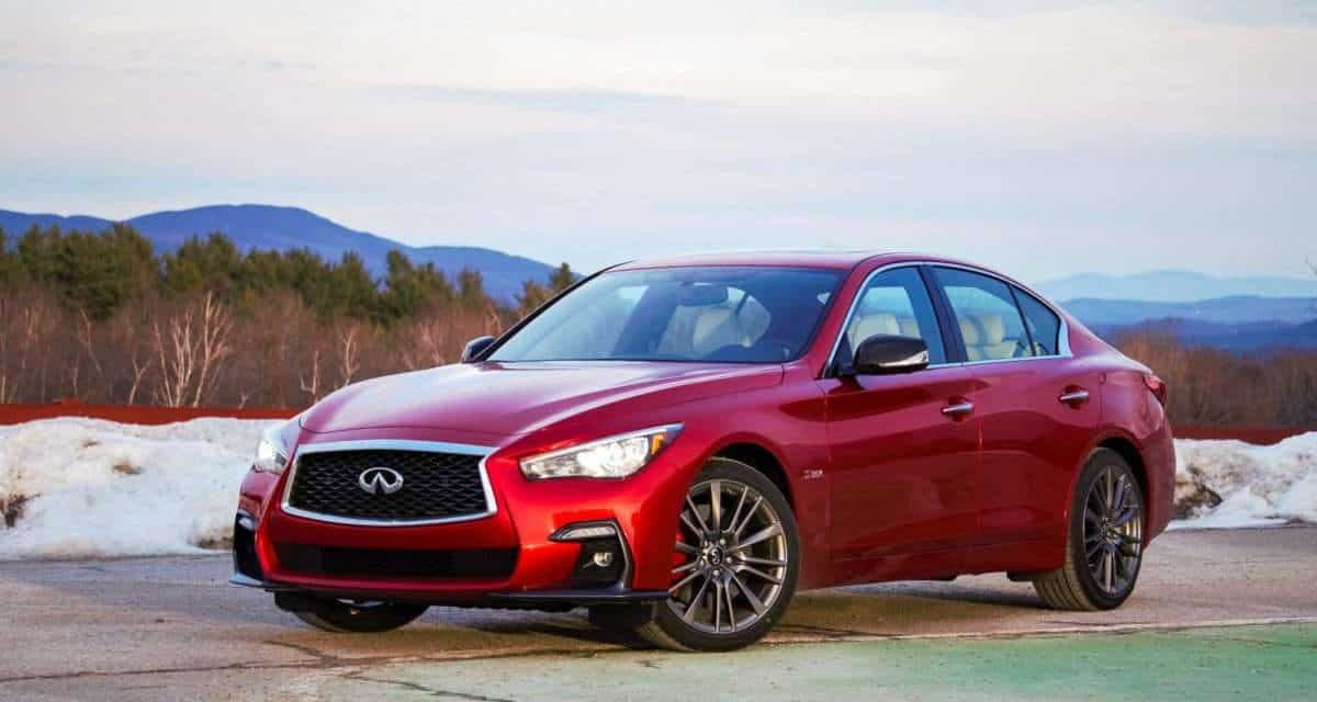 With the 2020 Infiniti Q50, Style Comes Standard