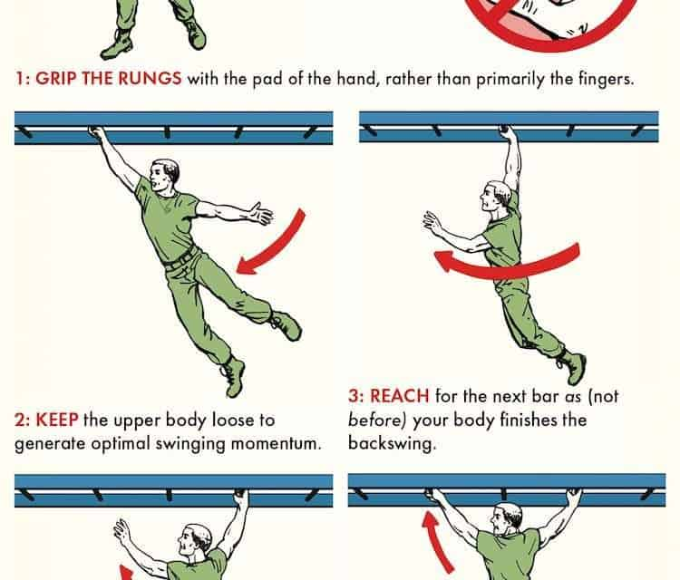 How to Do the Monkey Bars