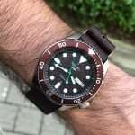 """Seiko 5 Sports SRPD85 Review: A Brown-Themed """"5KX"""" With A Textured Dial"""