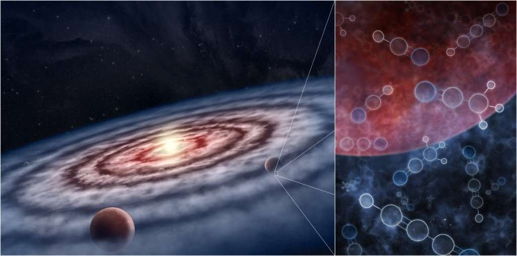 Astronomers See Carbon-Rich Nebulae Where Planets are Forming