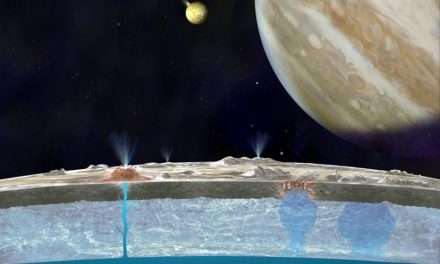 Europa has Water in its Atmosphere