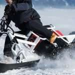 Moonbike Is Making the World's First Electric Snowbike
