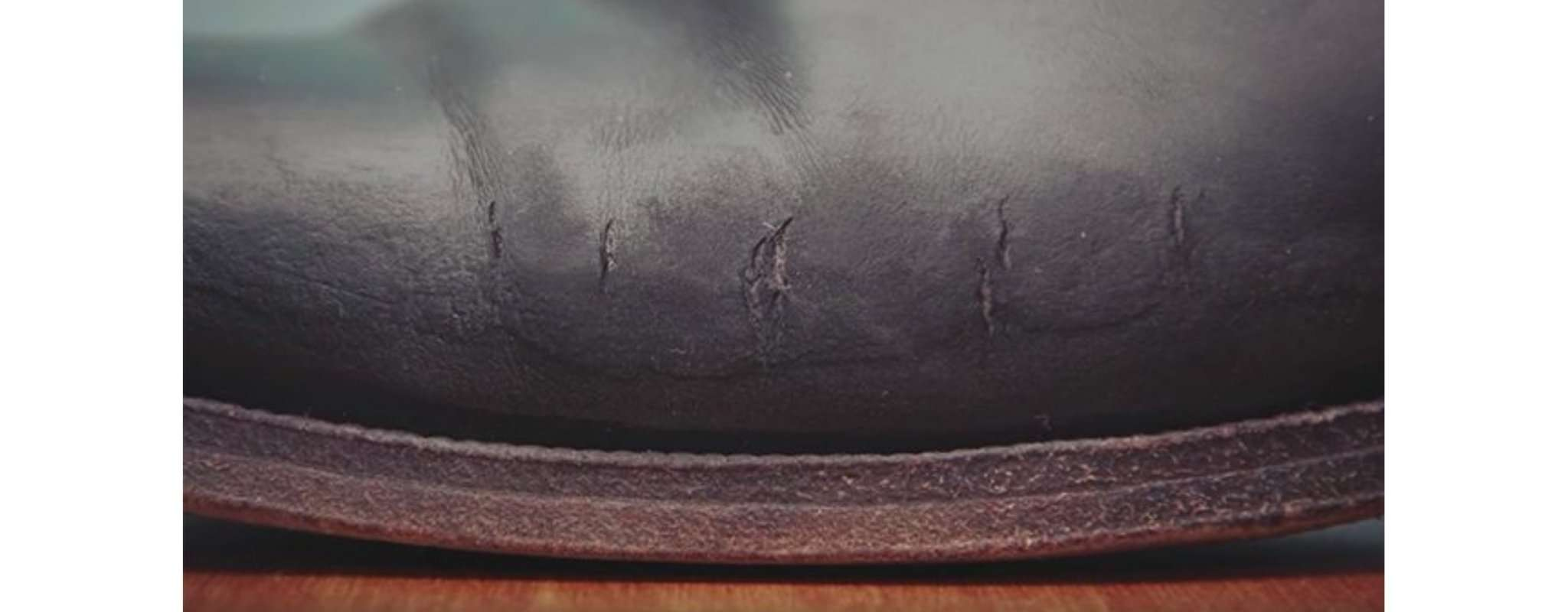 cracks on leather boots